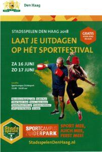 Stadsspelen @ Sportcampus Zuiderpark
