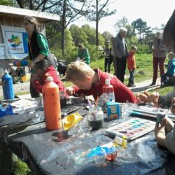 Paas-activiteiten bij de kinderboerderij in hetZuiderpark