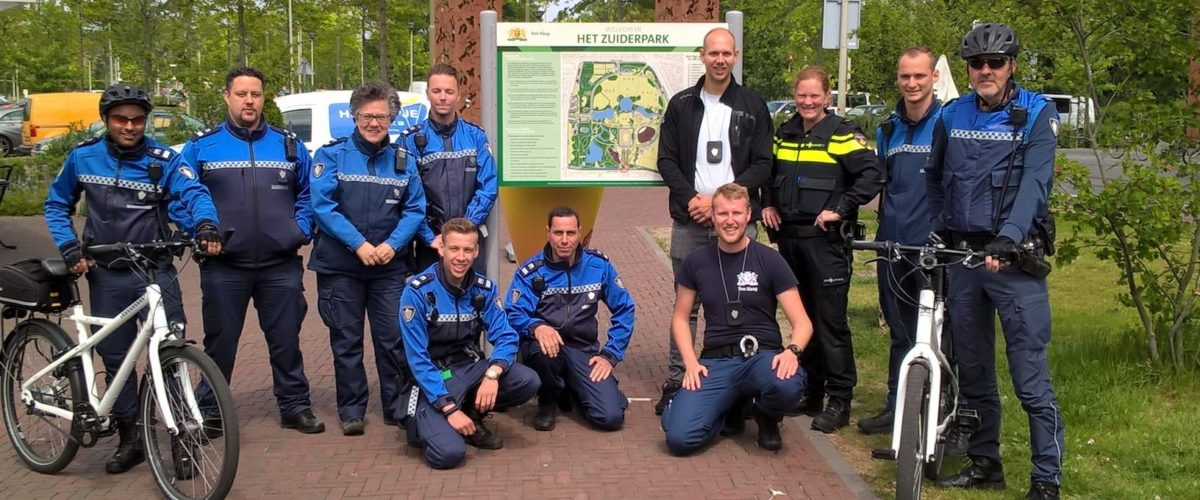 Extra handhaving Zuiderpark, ook 's nachts