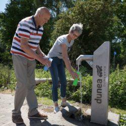 Openbare tapkranen Dunea in het Zuiderpark Den Haag