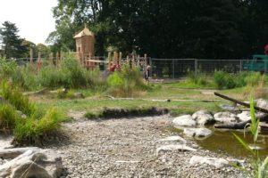 Aanleg nieuwe speeltuin in het Zuiderpark Den Haag