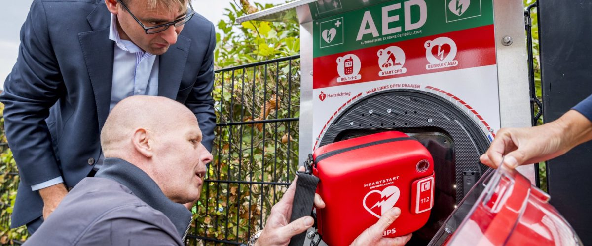 AED's op de Stadsboerderijen