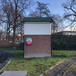 Derde AED is beschikbaar in het Zuiderpark