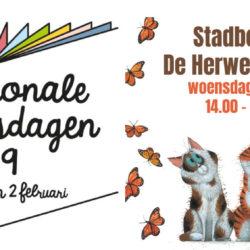 Nationale Voorleesdagen bij Stadboerderij de Herweijershoeve in het Zuiderpark Den Haag