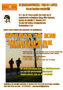 Sparta 10 km Zuiderpark @ Atletiek Vereniging Sparta | Den Haag | Zuid-Holland | Nederland