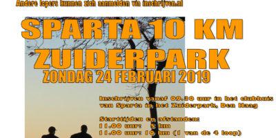 Sparta 10 km Zuiderpark