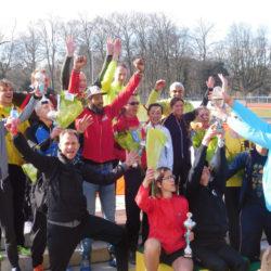 Clubkampioenschappen bij AV Sparta in het Zuiderpark.