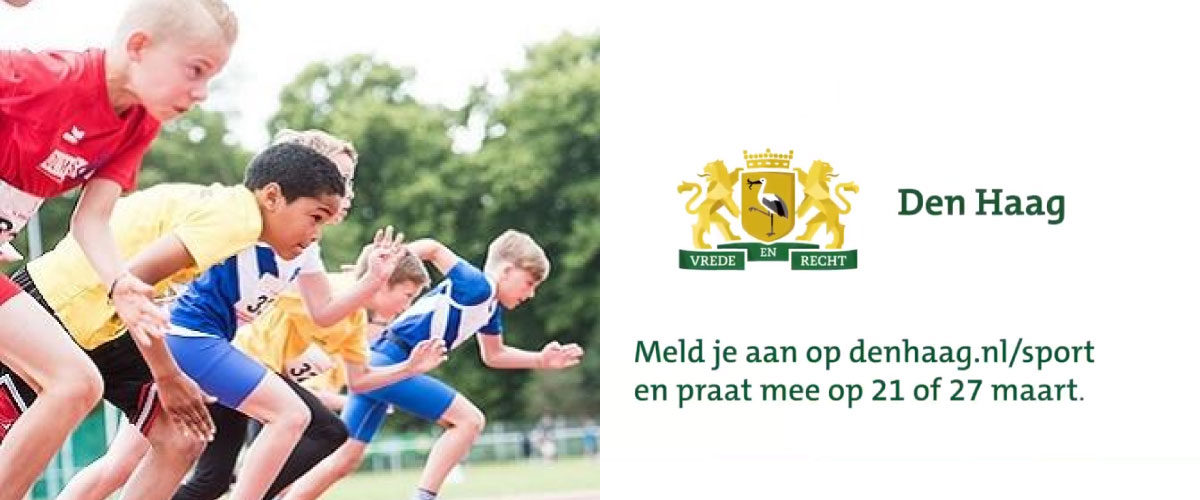 Praat mee over sport in de stadsgesprekken