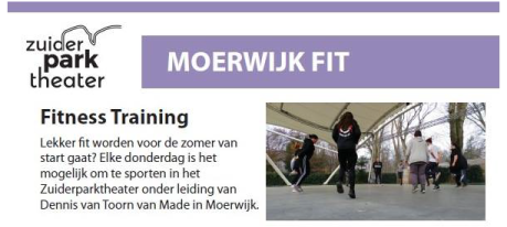 MOERWIJK FIT - fitnesstraining in het Zuiderparktheater