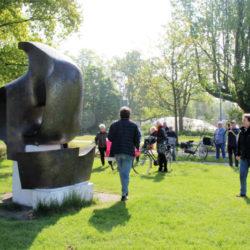 Fietstocht Kunstwerken Zuiderpark
