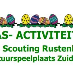 Paasactiviteiten bij de natuurspeelplaats Zuiderpret in het Zuiderpark