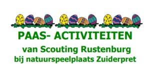 Paasactiviteiten Scouting Rustenburg (4-7 jaar) @ Natuurspeelplaats Zuiderpret | Den Haag | Zuid-Holland | Nederland