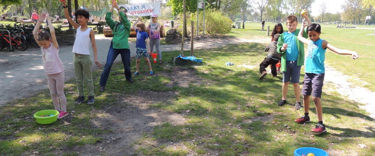 Welpen jungle-dag in het Zuiderpark