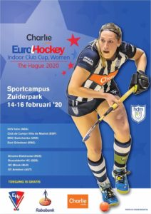 EuroHockey Indoor Club Cup Women @ Sportcampus Zuiderpark