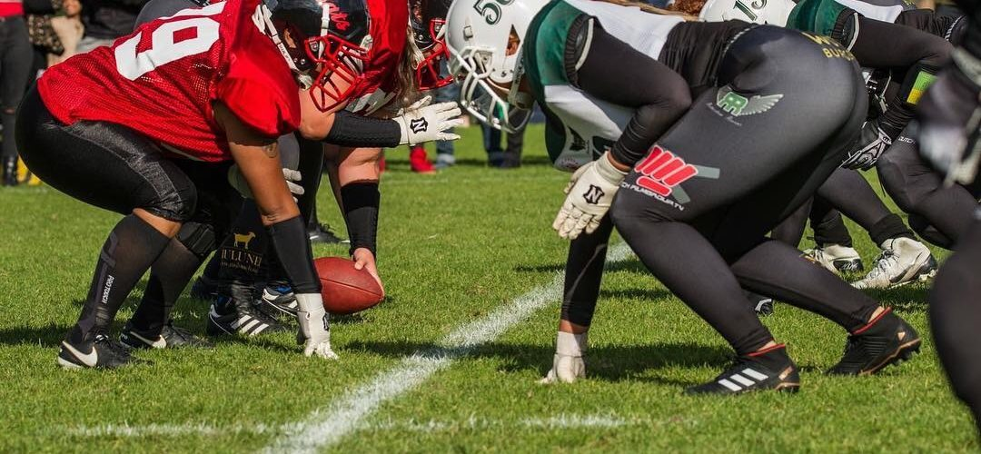 WIK biedt dames American Football aan in het Zuiderpark