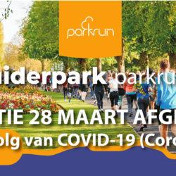 Parkrun Den Haag Zuiderpark opgeschort