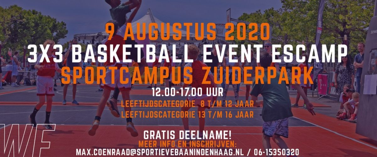3x3 basketballtoernooi Escamp