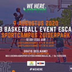3x3 basketballtoernooi Escamp