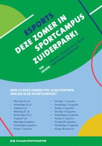 ESPORTS (ochtendeditie)- Sportcampus Zuiderpark @ Sportcampus Zuiderpark