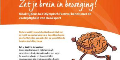 Zet je brein in beweging! – Sportcampus Zuiderpark