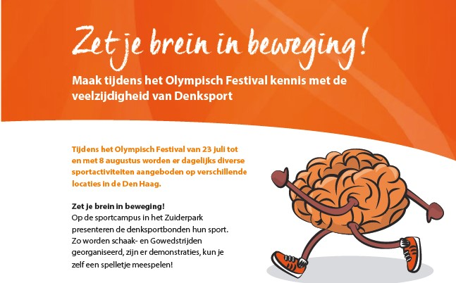 Zet je brein in beweging! - Sportcampus Zuiderpark